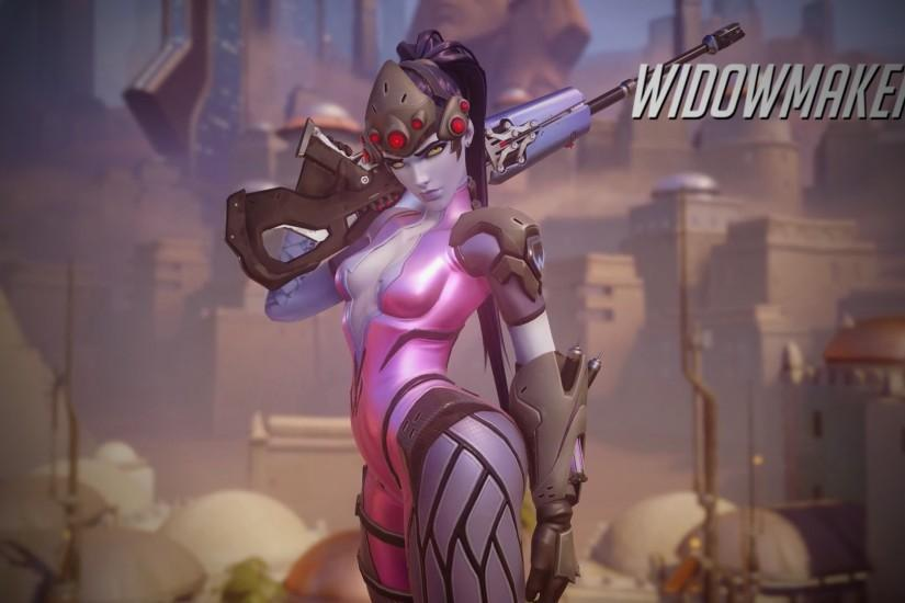 Overwatch Widowmaker Wallpaper - 1920 x 1080 by Mac117