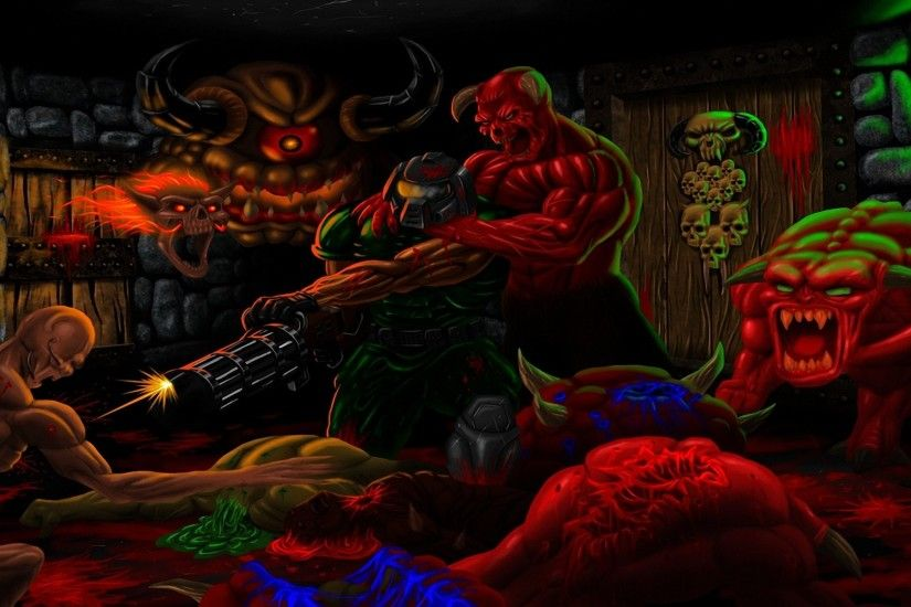 Video Game - Brutal Doom Wallpaper