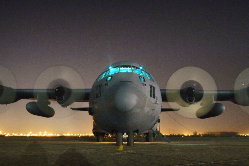 An Air Force Reserve C-130 Hercules is readied for takeoff at Sather Air  Base ?