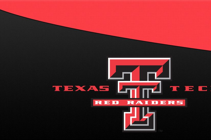 Texas Tech Red Raiders Logo 1920×1080 Wallpaper