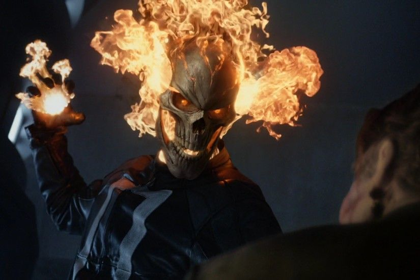 Diego Luna as the Ghost Rider, s04e02 Meet the New Boss (abc)