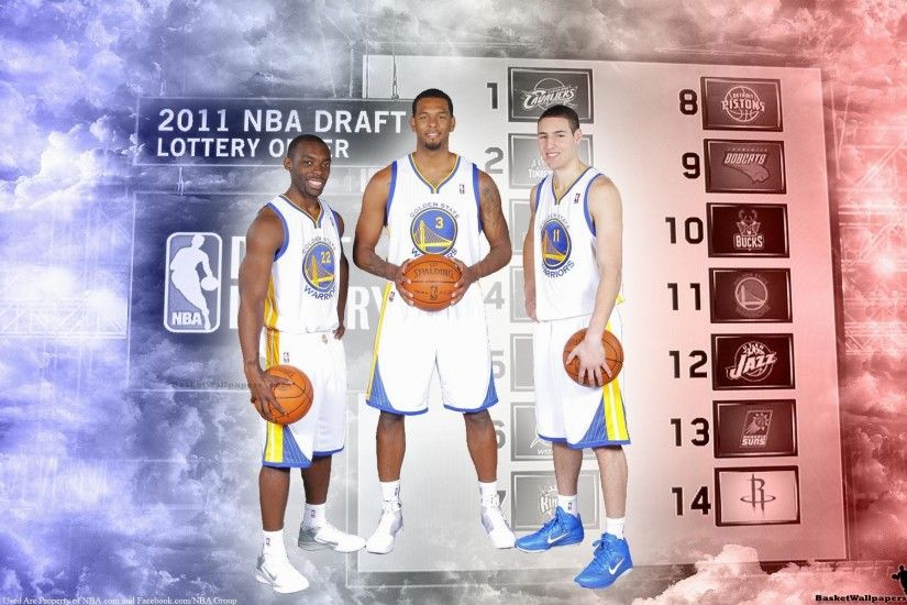 NBA-Draft-Golden-State-Warriors-Rookies-Widescreen-Wallpaper