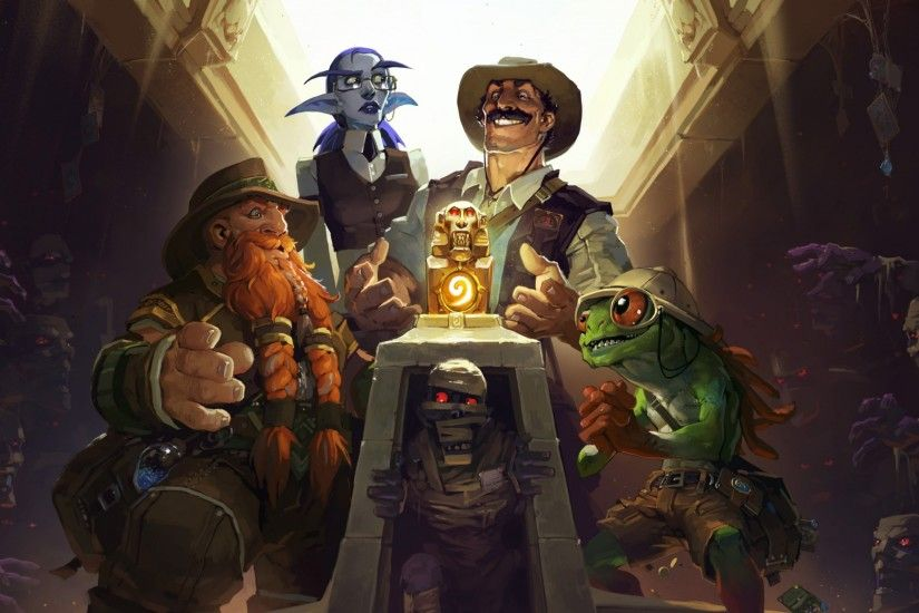 Preview wallpaper hearthstone, heroes of warcraft, the league of explorers,  brann bronzebeard 2048x1152
