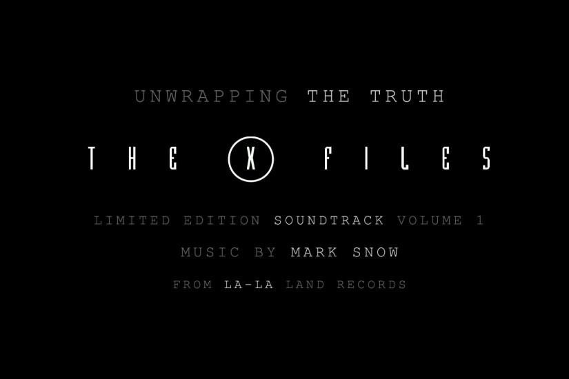 Unwrapping: X-Files Limited Edition Soundtrack by Mark Snow