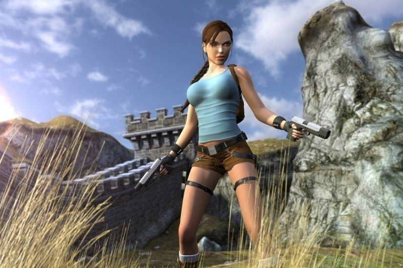 Lara Croft Rise Of The Tomb Raider wallpapers uloussavers