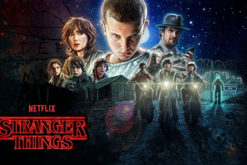 10 Stranger Things HD Wallpapers | Backgrounds - Wallpaper Abyss