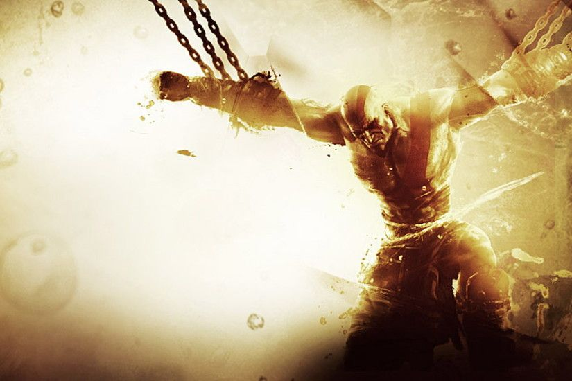 Wallpaper God Of War Prison HD