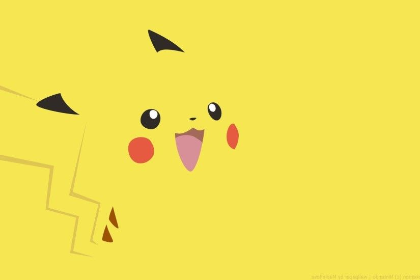 Happy Pikachu - Pokemon wallpaper 1920x1080 jpg