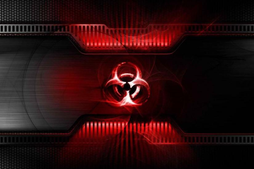 Red Biohazard Symbol - Viewing Gallery