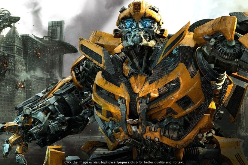Bumblebee in Transformers 3 HD wallpaper for your PC, Mac or Mobile device