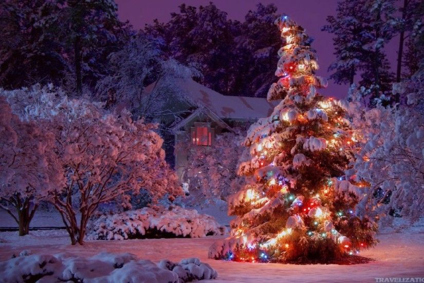 Free Winter Christmas Wallpapers Free at Landscape » Monodomo