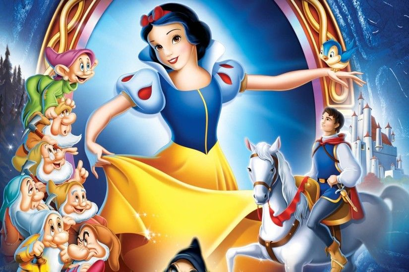 ... Snow White dancing - Snow White and the Seven Dwarfs wallpaper  1920x1080 ...
