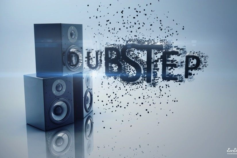 Preview wallpaper acoustics, dubstep, energy, sprays, reflection 3840x2160