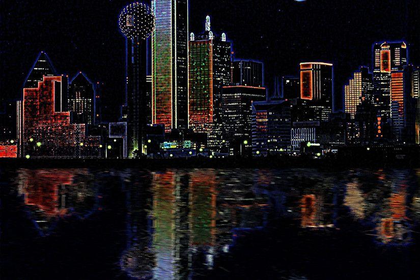 Houston Skyline Desktop Wallpaper: Houston Skyline Wallpaper ·① WallpaperTag