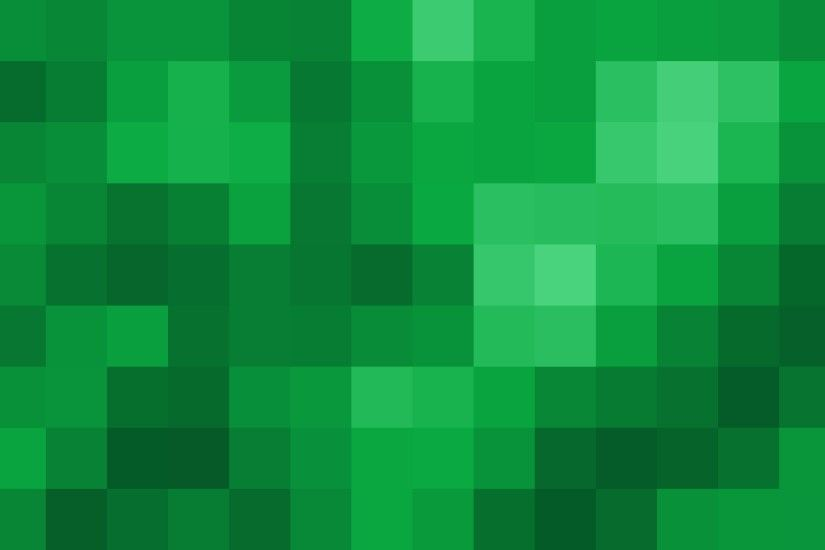 'Mosaic Green' - Magnified Pixels PatternFree Download Motion Background  Loop-SampleStill