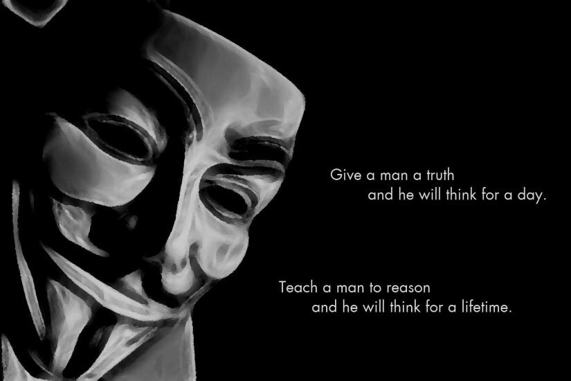 Anonymous Black Background Proverb Quotes Science Wallpaper