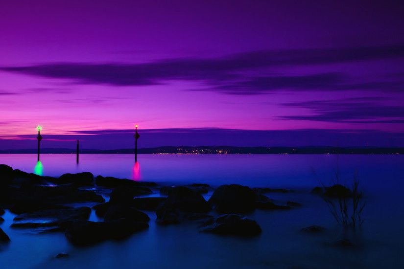 Purple Sunset Wallpaper 23196