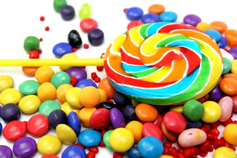 Candy Lollipop Background wallpaper thumb