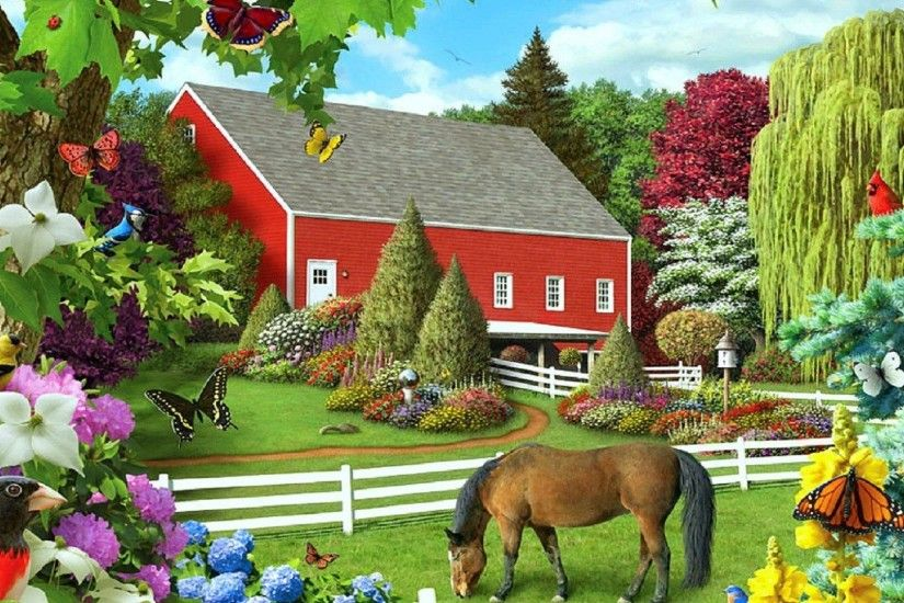 Horses Tag - Nature Digital Creative Seasons Farm Leaves Love Stunning  Drawings Designs Outdoor Trees Four