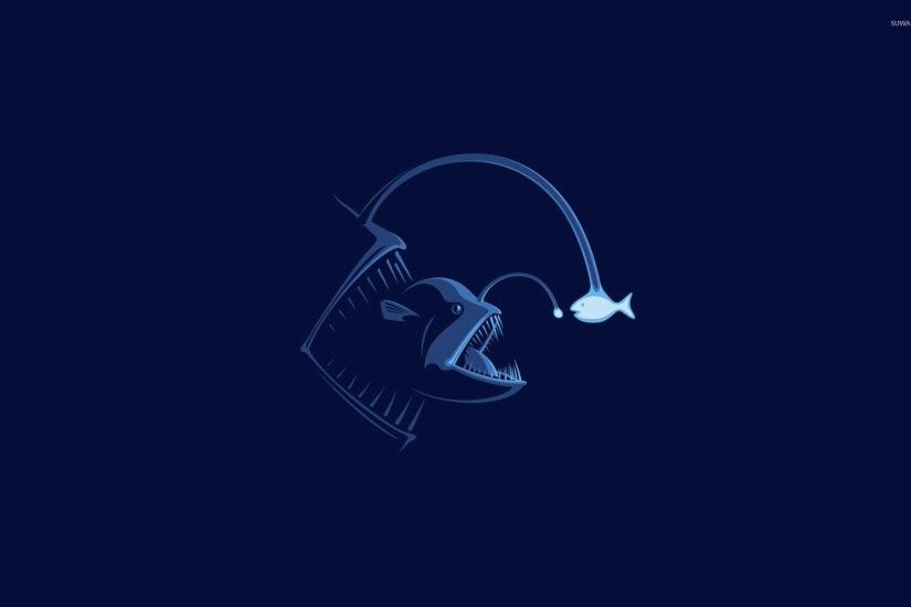 Anglerfish wallpaper 1920x1200 jpg