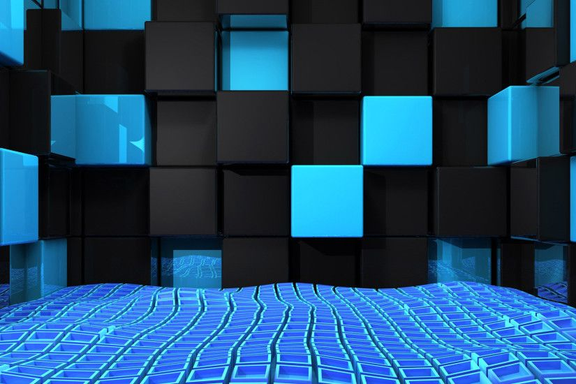 3D-Blue-and-Black-Cubes-Desktop-Background-HD.