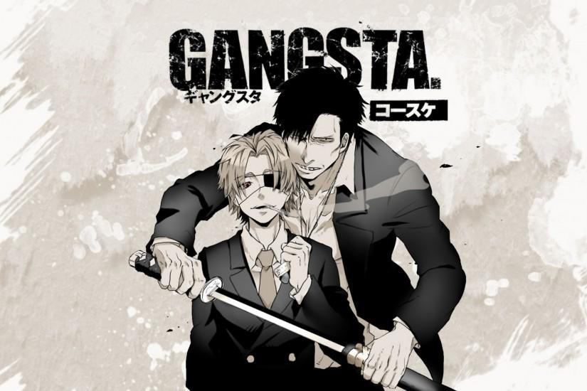 HD Wallpaper | Background ID:755828. 2600x1625 Anime Gangsta.