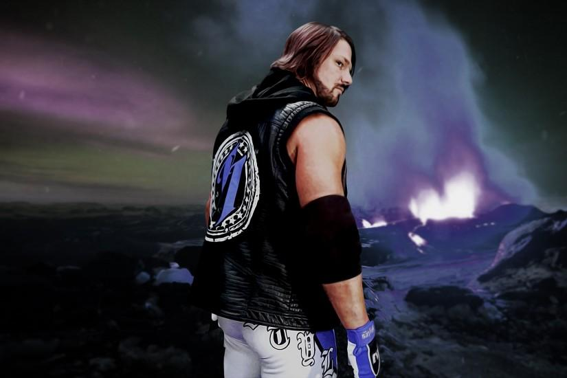 AJ Styles 4K Wallpaper by CrazyScarry