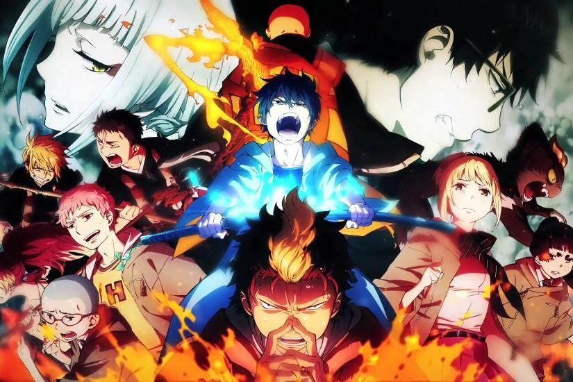 full size blue exorcist wallpaper 3840x2160 full hd