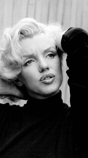 1080x1920 Wallpaper marilyn monroe, singer, actress, bw