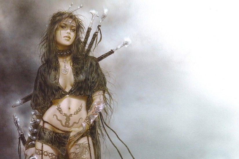 luis royo art tattoos