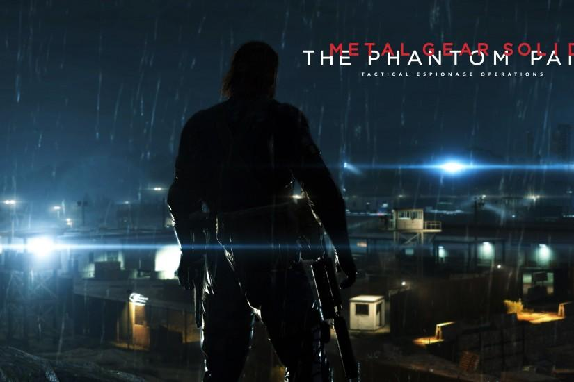 Big Boss in Metal Gear Solid V: The Phantom Pain wallpaper