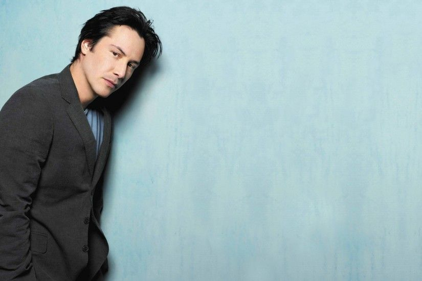 Download now full hd wallpaper keanu reeves serious suit actor ...