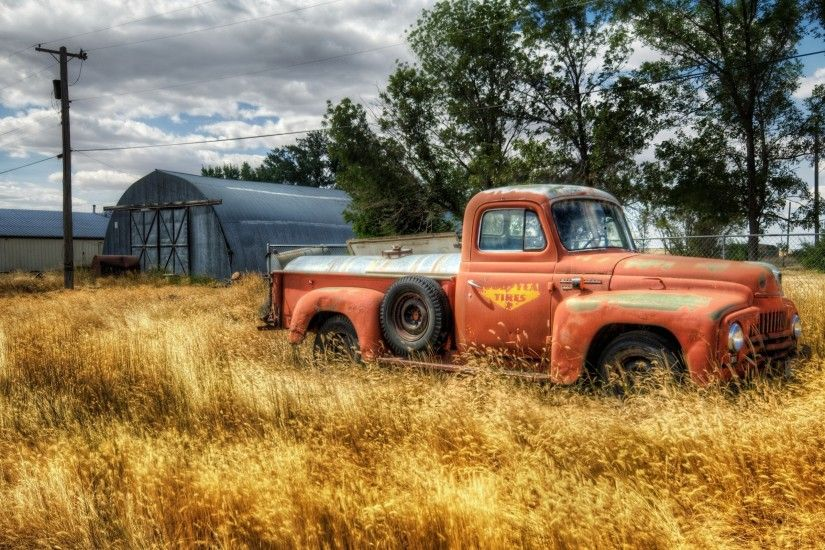 Old Ford Truck Wallpaper | HD Wallpapers