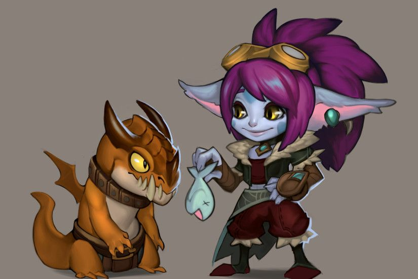 Dragontrainer Tristana Concept by Lonewingy League of Legends Artwork  Wallpaper lol