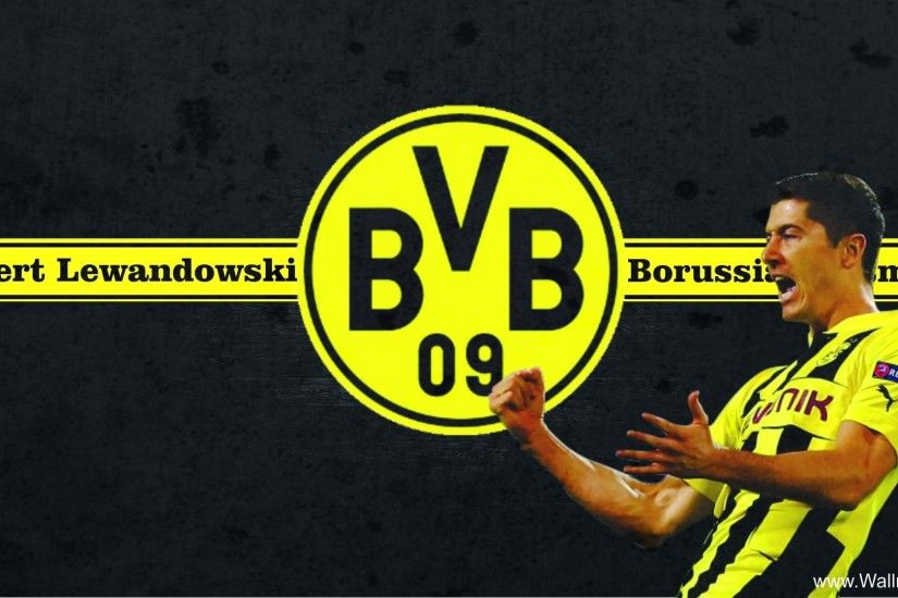 Picture Lewandowski Borussia Dortmund HD Wallpaper
