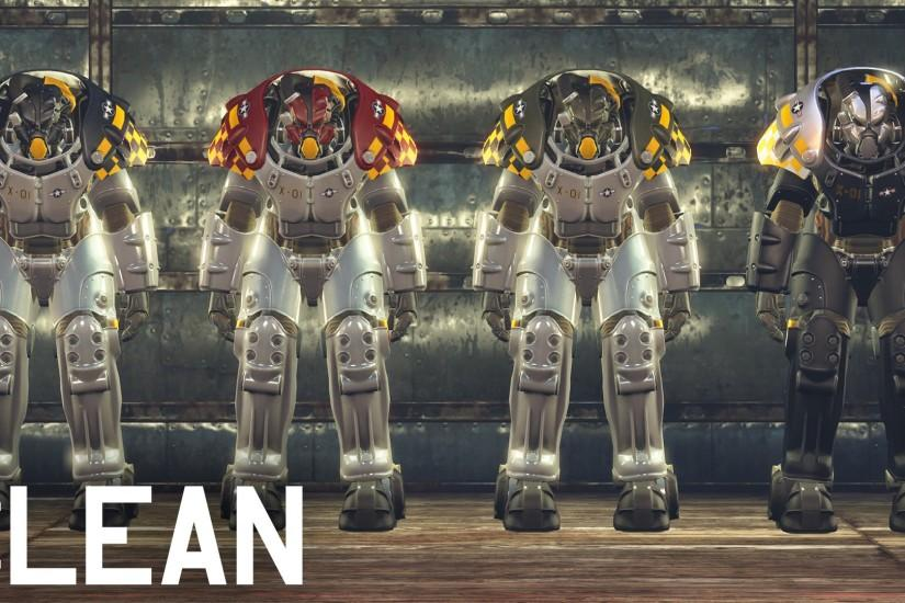Fallout 4 Power Armor 2015 HD desktop wallpaper : Widescreen