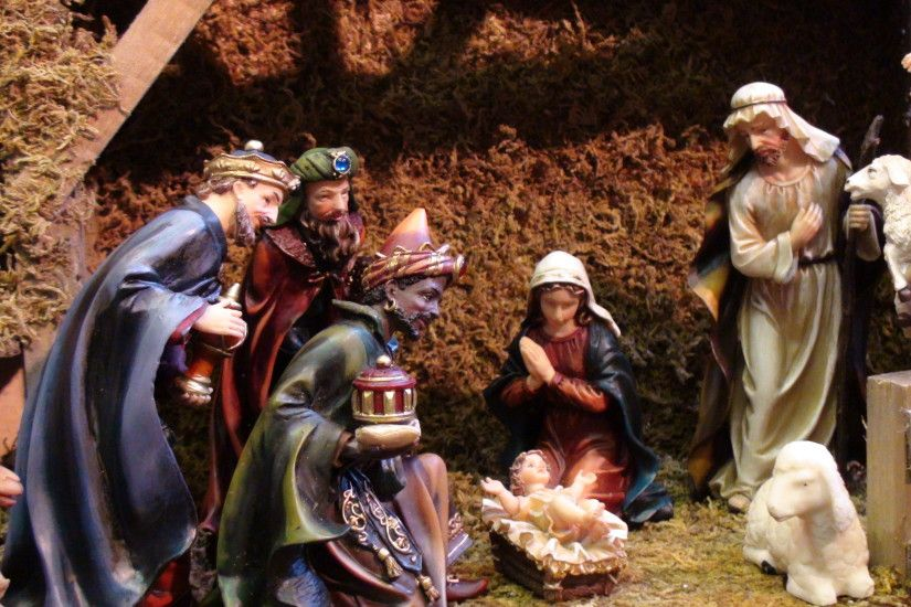 Click here for Very Big Picture of this Christmas Crib