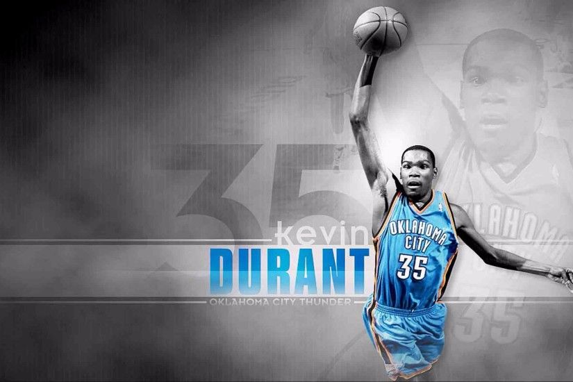 OKC Thunder 2016 Kevin Durant 4K Wallpapers