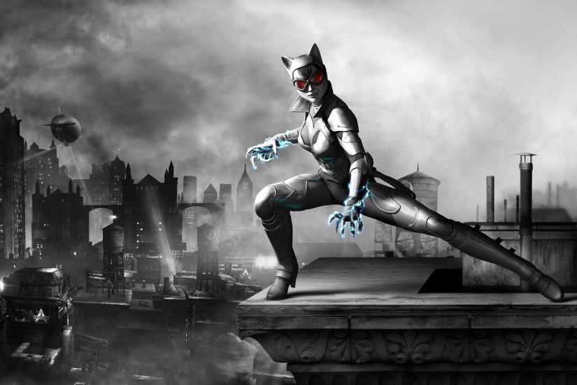 high definition 2560x1600 Batman Arkham City Game Catwoman Hd background: catwoman  wallpaper ~ arkham city