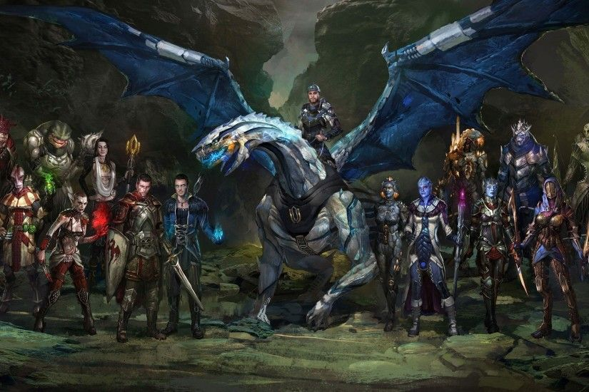 ... m effect and dragon age wallpaper 15705 ...