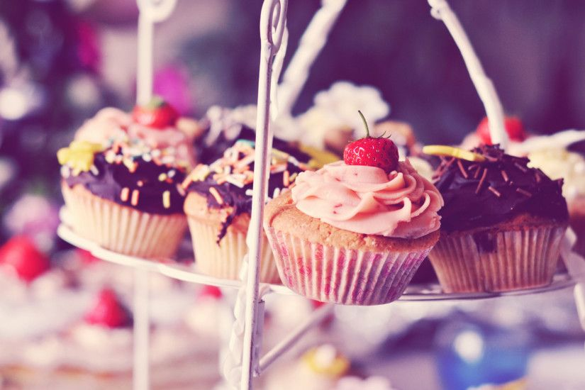 Download Cute Cupcake Wallpaper 36350