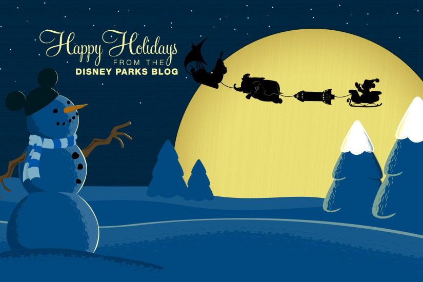... Disney Parks Blog Holiday Wallpaper ...