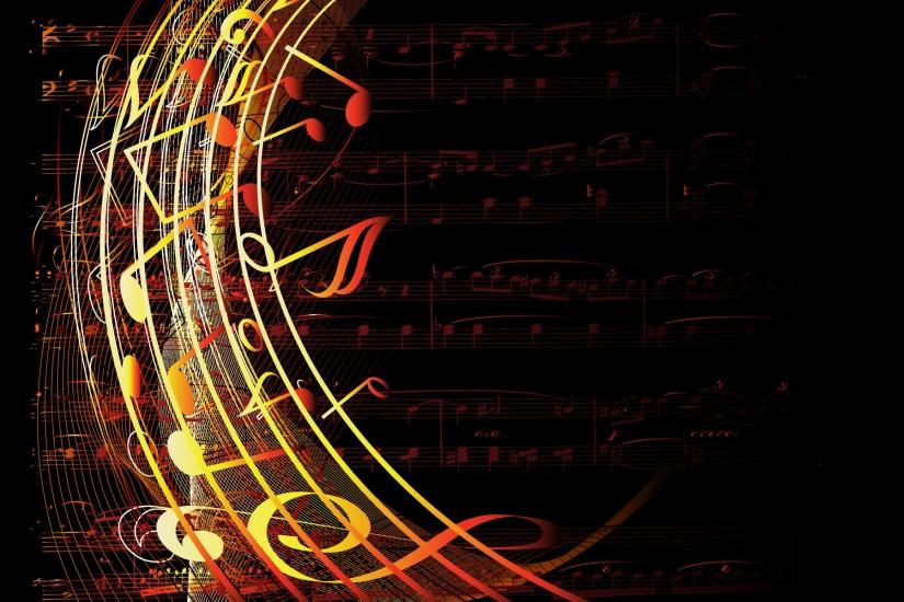free music notes background 1920x1200 for htc
