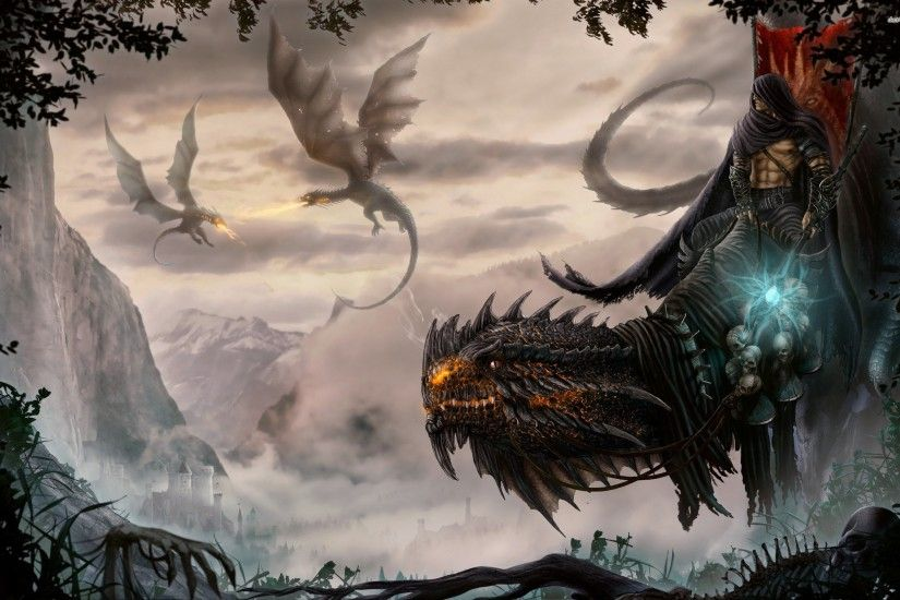 Fantasy art artwork dragon monster creature wallpaper | 2560x1600 | 881792  | WallpaperUP