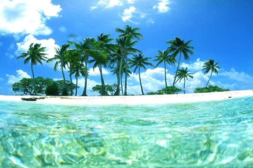 Tropical Island Wallpapers - WallpaperSafari ...