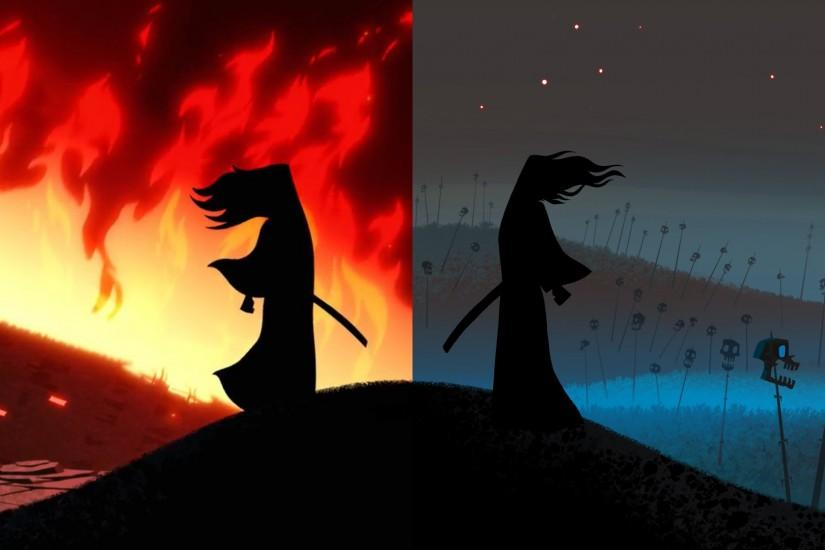 samurai jack wallpaper 3840x1080 hd