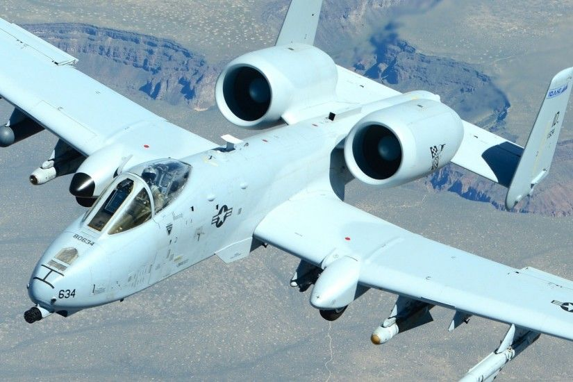 2560x1080 Wallpaper a-10, thunderbolt ii, aircraft, attack