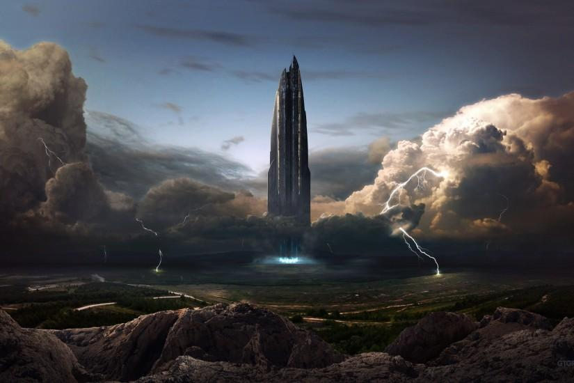 Awesome Fantasy Sci Fi Landscape Wallpaper HD 14 - SiWallpaperHD 4625 .