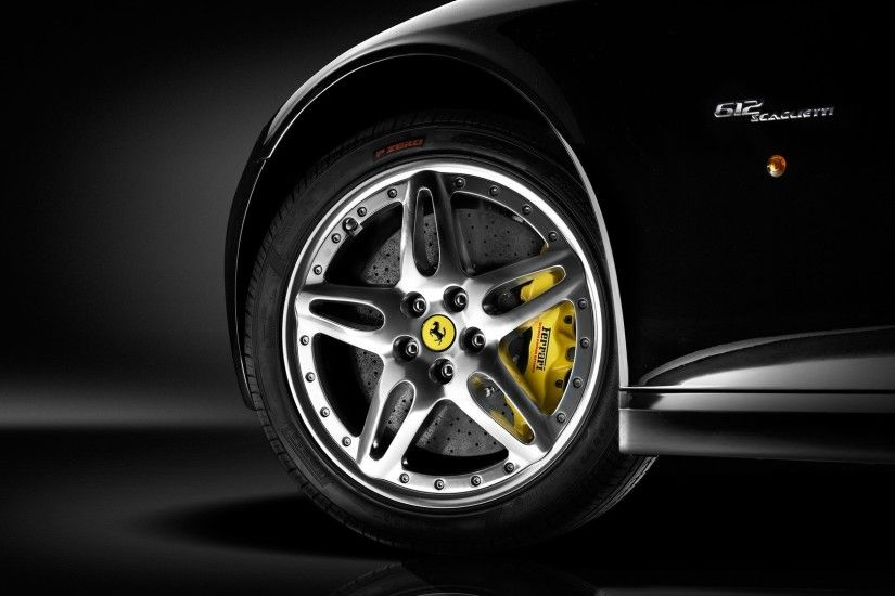 Black Ferrari Wallpaper 36840