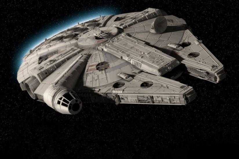 Star Wars Movies Spaceships Millenium Falcon Desktop Hd Wallpaper :  Wallpapers13.com